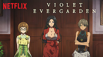 Is Violet Evergarden on Netflix Denmark?
