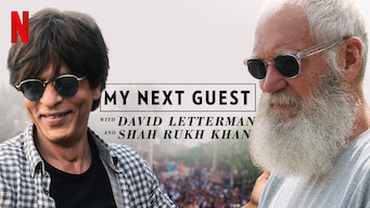 My Next Guest with David Letterman and Shah Rukh Khan (2019)