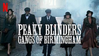 Peaky Blinders – Gangs of Birmingham (2019)