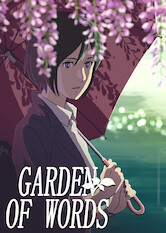Search netflix The Garden of Words